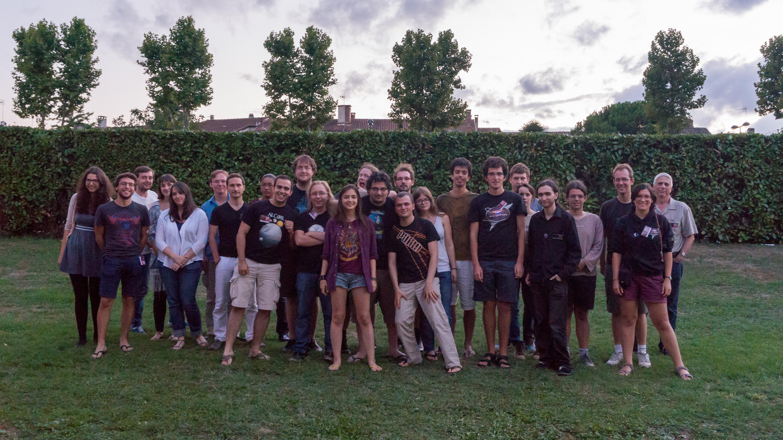 25ème festival d'astronomie de Fleurance, édition 2015. Entre diverses associations étudiantes dont Alcor.